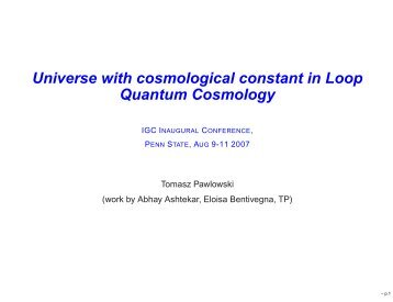 Universe with cosmological constant in Loop Quantum Cosmology