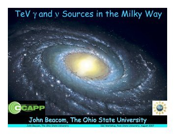 TeV Gamma Ray and Neutrino Sources in the Milky Way