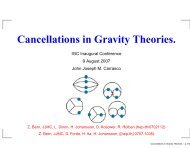 Cancellations in Gravity Theories.