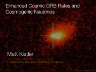 """""""The Evolving Cosmic GRB Rate and Cosmogenic Neutrinos"""" (pdf)"""