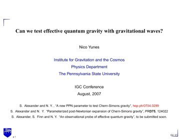 Can we test effective quantum gravity with gravitational waves?