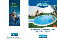 Ein Swimmingpool im Selbstbausatz - sicher, aber nur von ... - Schepp