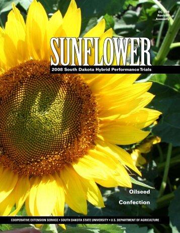 2008 Sunflower South Dakota Hybrid Performance Trials - iGrow