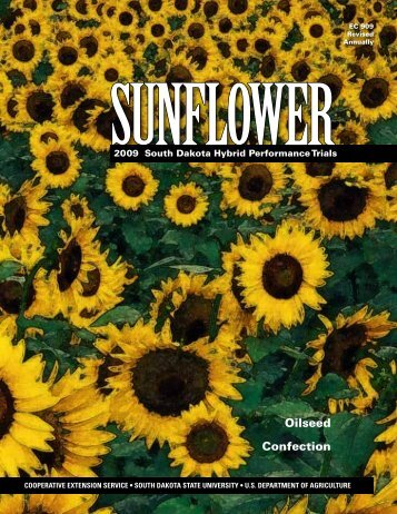 2009 Sunflower South Dakota Hybrid Performance Trials - iGrow