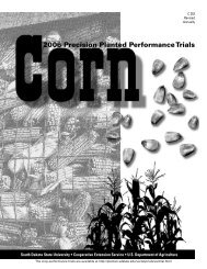 Corn: 2006 Precision Planted Performance Trials - iGrow