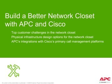 MOBILITY SECURITY UNIFIED COMMUNICATIONS - APC