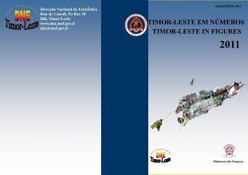 timor-leste in figures timor-leste em números - Direcção Nacional de ...