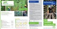 Hochseilpark Flyer als PDF - bei der Erlebnis Akademie AG