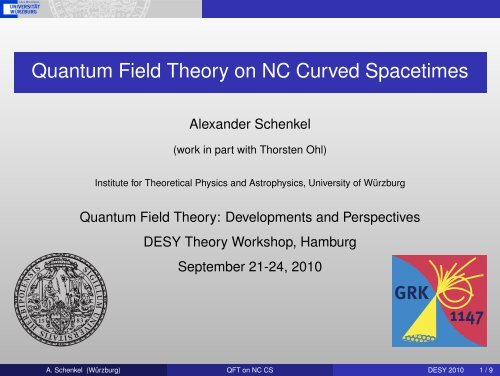 Quantum Field Theory on NC Curved Spacetimes