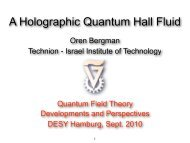 B - Quantum Field Theory: Developments and Perspectives - Desy