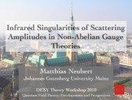 Infrared Singularities of Scattering Amplitudes in Non-Abelian ...