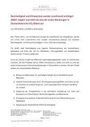 NL 5_2011 Nachhaltigkeit und Klimaschutz - ANXO Management ...