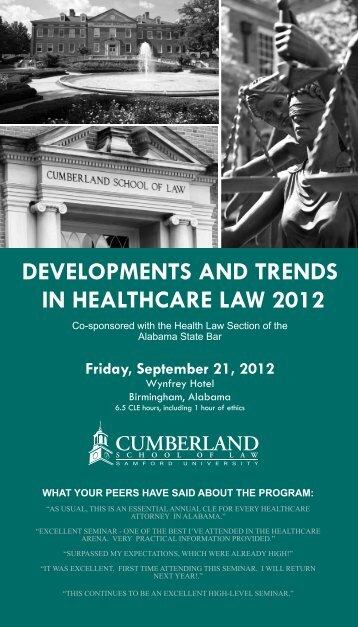 TEST HEALTH.pdf - Cumberland School of Law - Samford University
