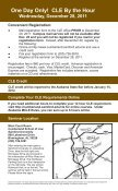CLE By the Hour - Cumberland School of Law - Samford University - Page 4