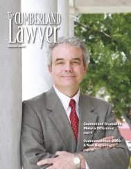 Summer 2009 - Cumberland School of Law - Samford University