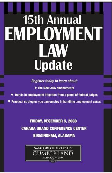 1 - Cumberland School of Law - Samford University