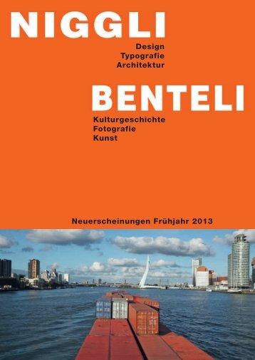 Verlage Benteli und Niggli - re-book: marketing-kommunikation