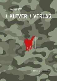 / KLEVER / VERLAG - indiebook