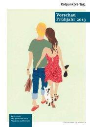 Vorschau Frühjahr 2013 - Rotpunktverlag