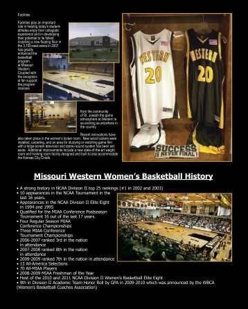 Click on image to view foldout - Missouri Western State University ...