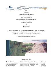 Crue et élévation du niveau marin à Saint-Louis du Sénégal ...