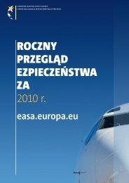 Roczny pRzegl?d ezpiecze?stwa za 2010 r. - European Aviation ...