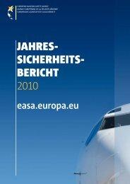 Jahres sicherheits bericht 2010 - European Aviation Safety Agency ...