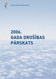 2006. GADA DRO??BAS P?RSKATS - EASA - Europa