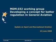 MDM.032 - European Aviation Safety Agency - Europa