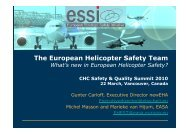 EHEST for HEMS May 2010 - European Aviation Safety Agency ...