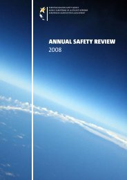 AnnuAl SAfety Review 2008 - European Aviation Safety Agency ...