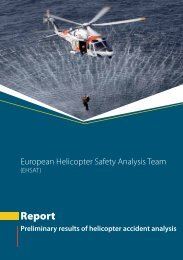 Report - European Aviation Safety Agency - Europa