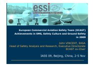 ECAST for IASS 09 - European Aviation Safety Agency - Europa
