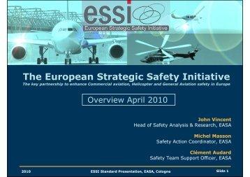 ESSI Standard Presentation Apr 2010 - European Aviation Safety ...