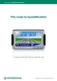 The route to humidification - Intersurgical