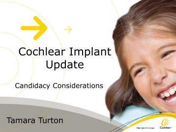 Cochlear Implant Update - ENT Society