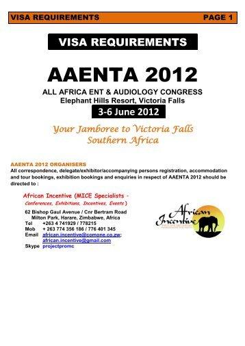 AAENTA 2012 - ENT Society