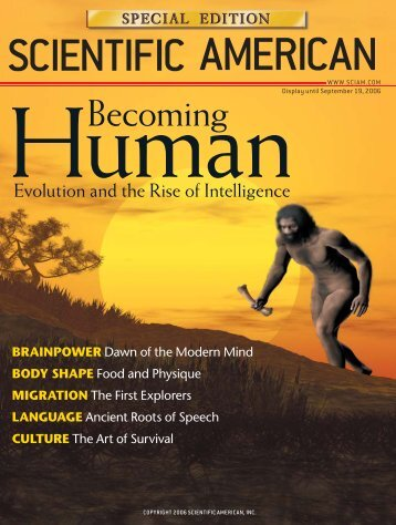 Scientific American - Ecology & Evolutionary Biology - University of ...