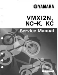 VMX12 Service Manual - V-Max Outlaw