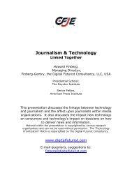 Journalism & Technology