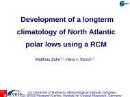 Development of a longterm climatology of North Atlantic polar lows ...