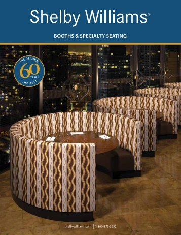 BOOTHS & SPECIALTY SEATING - Shelby Williams