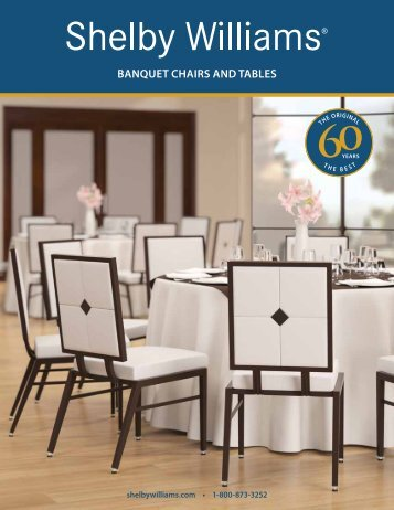 Banquet CHaIRS and taBLeS - Shelby Williams