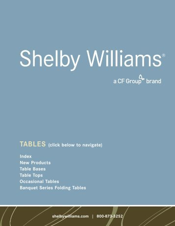 Tables - CFGroup