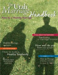 The Utah Marriage Handbook - Stronger Marriage