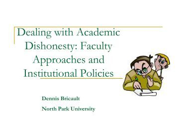 How do you discourage dishonesty in an ESL classroom?