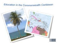 Education in the Commonwealth Caribbean - Shelby Cearley's Blog ...