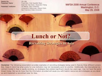 Lunch or Not – Recruiting Strategies in Asia - Shelby Cearley's Blog ...