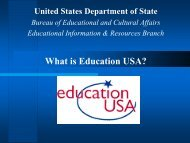 What is Education USA? - AACRAO