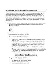Ancient Civilizations Assignment _Detailed Description_